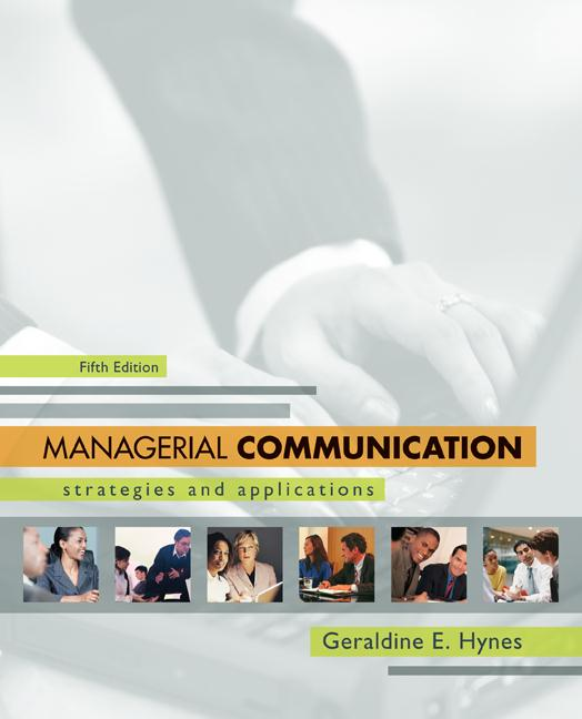 """managerial communication report The prentice hall """"guide to"""" series in business communication brief,  guide to report writing,  • you may be new to managerial communication and are."""