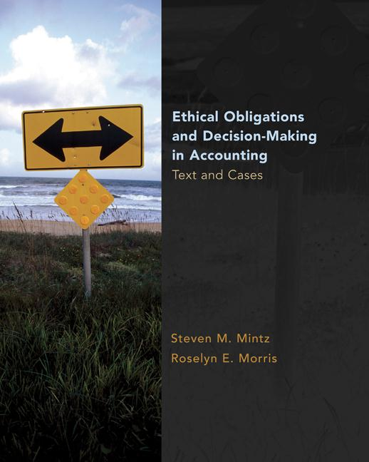ethical and legal obligations in accounting Chapter 4 - ethics and professional judgment in accounting chapter 5 - fraud in financial statements and auditor responsibilities chapter 6 - legal, regulatory, and professional obligations of auditors chapter 7 - earnings management chapter 8 - ethical leadership and decision-making.