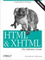HTML & XHTML: The Definitive Guide, Sixth Edition