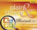 Microsoft Office Excel 2007 Plain & Simple