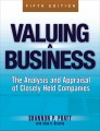 Valuing a Business, 5th Edition