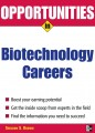 Opportunities in Biotech Careers
