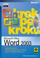 Microsoft Office Word 2003 krok po kroku