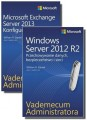 Zestaw 2 książek Vademecum administratora (Windows Server 2012 R2 + Exchange Server 2013)