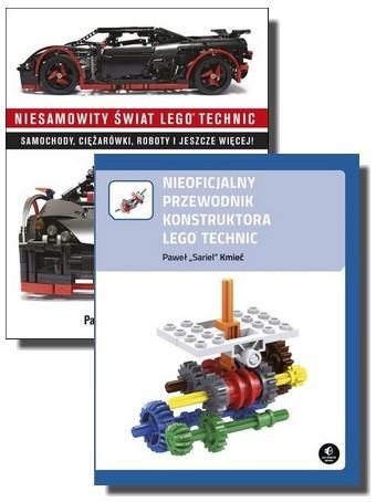 Zestaw 2 książek Lego Technic (Nieoficjalny przewodnik + Niesamowity świat)